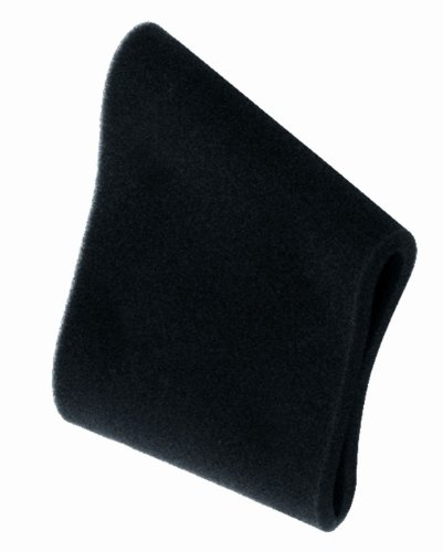 Stanley 25-1202 Foam Filter for 1-5 Gallon Wet/Dry Vacuums, 1-Pack, Black