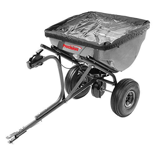 Precision Products 100-Pound Capacity Tow-Behind Semi-Commercial Broadcast Spreader TBS4500PRCGY