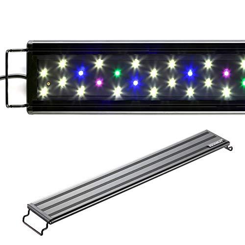 AQUANEAT LED Aquarium Light Full Spectrum for 18 Inch to 24 Inch Fish Tank Light Fresh Water Light Multi-Color