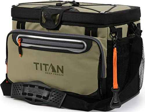 Arctic Zone Titan Deep Freeze 30 Can Zipperless HardBody Cooler, Moss (1718IL918763)