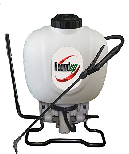 Roundup 190314 Backpack Sprayer for Fertilizers, Herbicides, Weed Killers & Insecticides, 4 Gallon , White