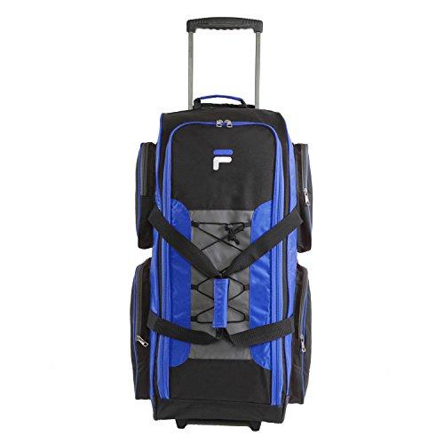 Fila FL-LUD-532-BL 32-inch Lightweight Rolling Duffel, Blue