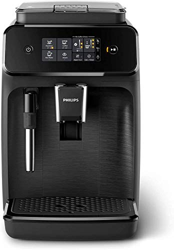 Philips 1200-Series Fully Automatic Espresso Machine w/Milk Frother (EP1220/04)