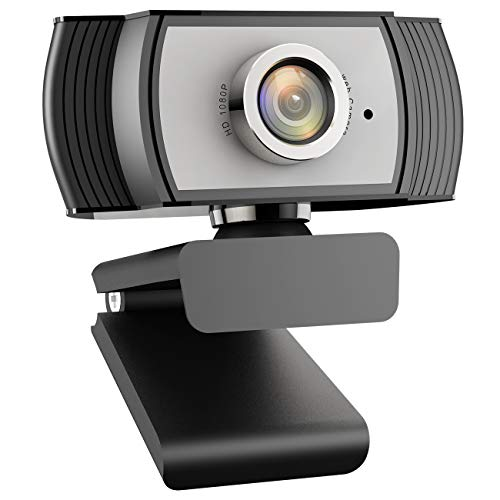 Arbalest 1080P Webcam for Streaming Web Camera with Microphone for Zoom Meeting YouTube Skype FaceTime Hangouts OBS Xbox XSplit, Compatible with Mac OS Windows Laptop Desktop Computers Monitors