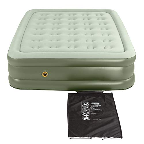 Coleman Air Mattress   Double-High SupportRest Air Bed for Indoor or Outdoor Use , Green