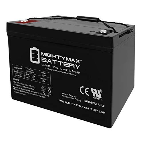 ML100-12 12V 100AH SLA Battery - Mighty Max Battery Brand Product