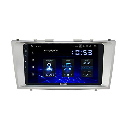 Dasaita 9' Android 10.0 Car Stereo with Carplay for Toyota Camry 2007 to 2011 Bluetooth Head Unit Touch Screen 1280x720 4G Ram 64G ROM Support Android Auto GPS Navigation WiFi RDS