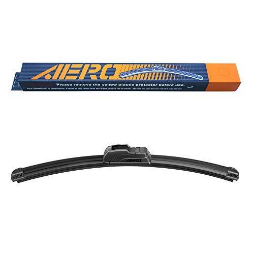 AERO 12' OEM Quality Premium All-Season Beam J-Hook Windshield Wiper Blade