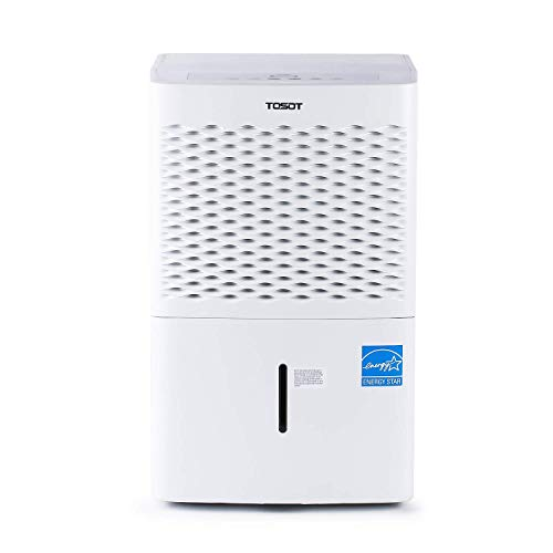 TOSOT 50 Pint with Internal Pump 4,500 Sq Ft Dehumidifier Energy Star - for Home, Basement, Bedroom or Bathroom - Super Quiet (Previous 70 Pint)