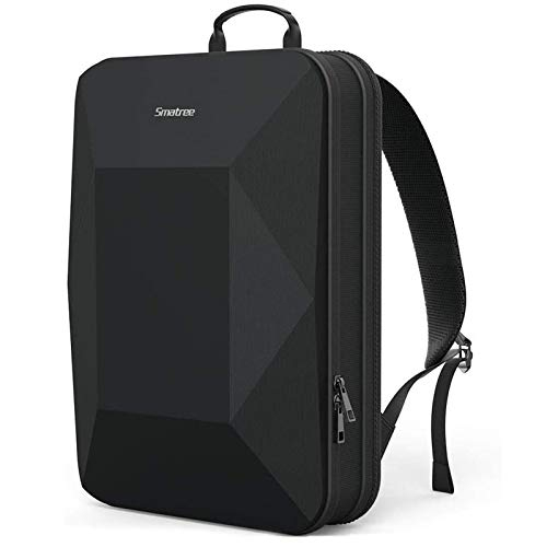 Smatree Laptop Backpack for Men, Business Travel Laptop Backpack, Shock Protective Slim Laptop Bag for 16 inch MacBook Pro, Macbook Pro 2019 2018 2017 and More 12.9/13/14/15/15.4/15.6 inch Laptop