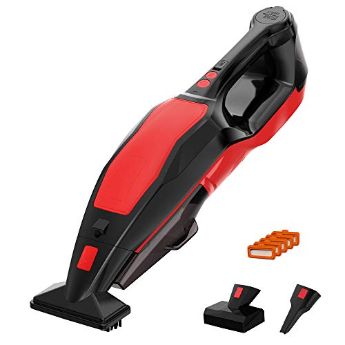 Handheld Carpet Cleaner Machine Cordless, POWERGIANT 9000PA Portable Pet Stains/Spot Cleaner and Wet Dry Vacuum Cleaner for Upholstery Home Couch Carpet Cleaning
