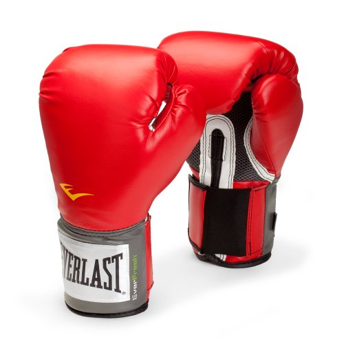 Everlast Pro Style Training Gloves (Red, 14 Oz.)