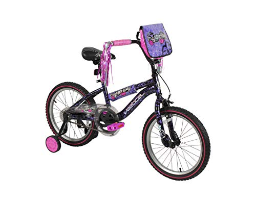 Vertical Mysterious 18' Bike with Removable Training Wheels