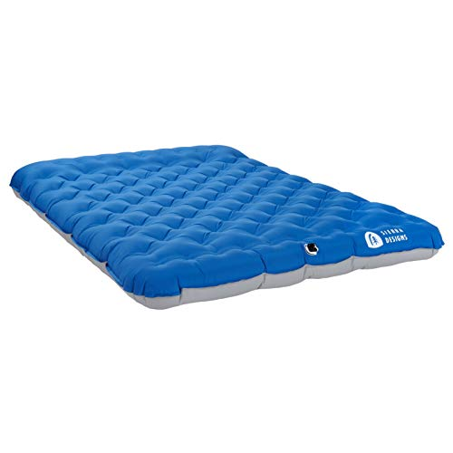Sierra Designs 2 Person Queen Camping Air Bed Mattress for Car Camping, Travel, and Camp (Pump Included)