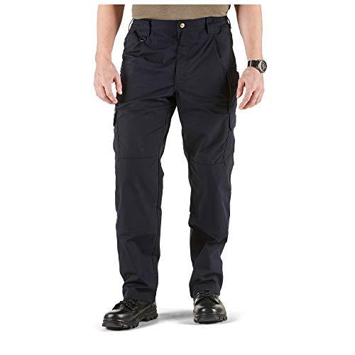 5.11 Tactical Men's Taclite Pro Lightweight Performance Pants, Cargo Pockets, Action Waistband, Dark Navy, 34W x 32L, Style 74273