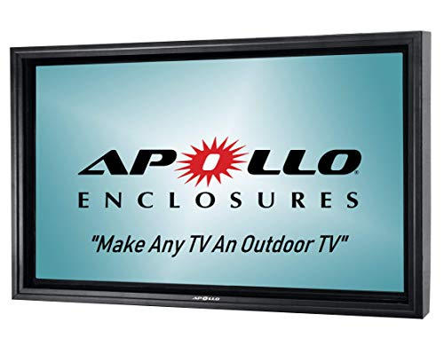 Apollo Outdoor TV Enclosure for Slim 50' to 55' TVs - (Apollo Weatherproof Mount Sold Separately)