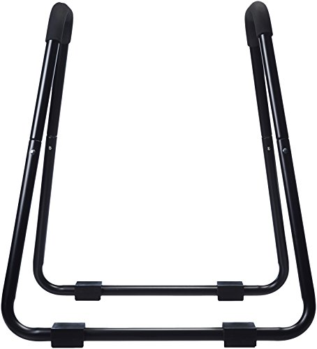 Amazon Basics Dip Fitness Bar - 34 x 32 x 38 Inches, Black