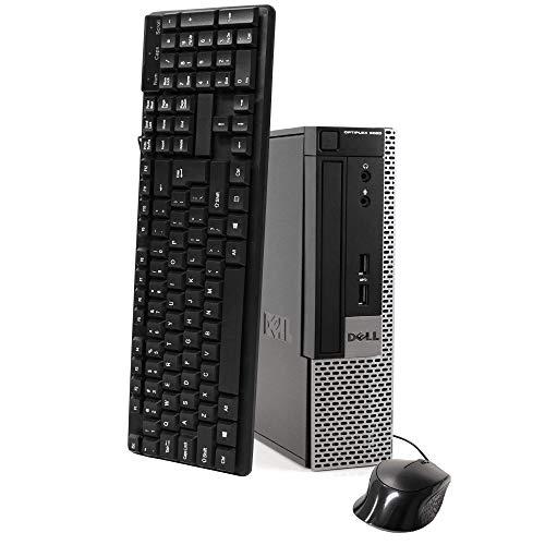 Dell Optiplex 9020 Ultra Small Tiny Desktop Micro Computer PC, Intel Core i5-4570T, 8GB Ram, 256GB Solid State SSD, WiFi, Bluetooth, Win 10 Pro (Renewed)