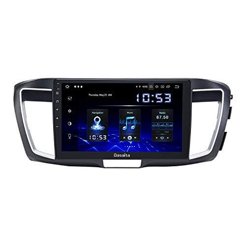 DasaitaAndroid10.0Car RadiowithCarplayforHonda Accord 2013 2014 20152016 2017 HeadUnit1280x720 Resolution TouchScreen4G Ram 64G ROM SupportAndroidAuto GPS Navigation WiFi RDS Bluetooth