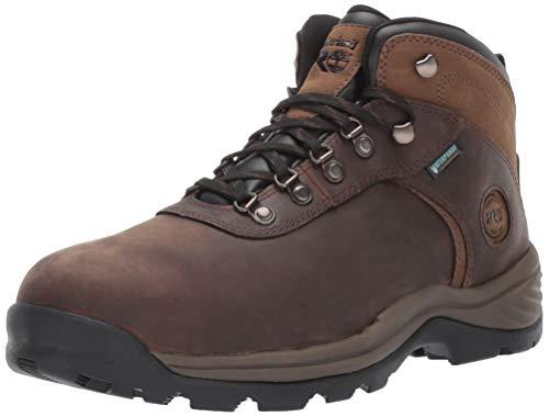 Timberland PRO Men's Flume Mid Steel Safety Toe Wateproof Industrial Hiker Work Boot, Brown, 10.5