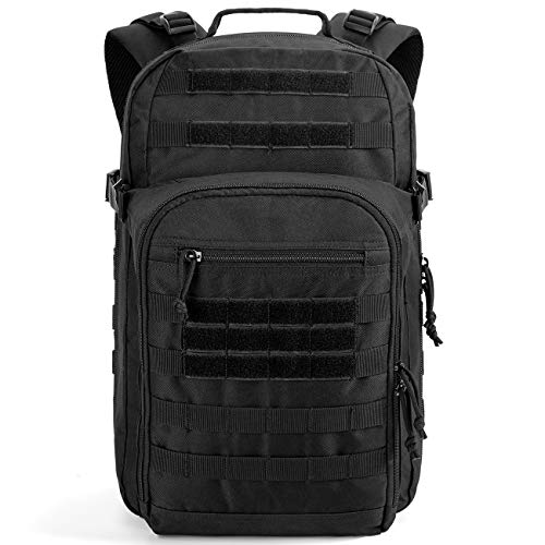Gelindo Military Tactical Backpack Large 3 Day Assault Pack Molle Amry Bag Bug-out Rucksack Backpacks Survival Functional Daypack for Outdoor Hiking Camping Hunting Trekking Schooling for Men 42L