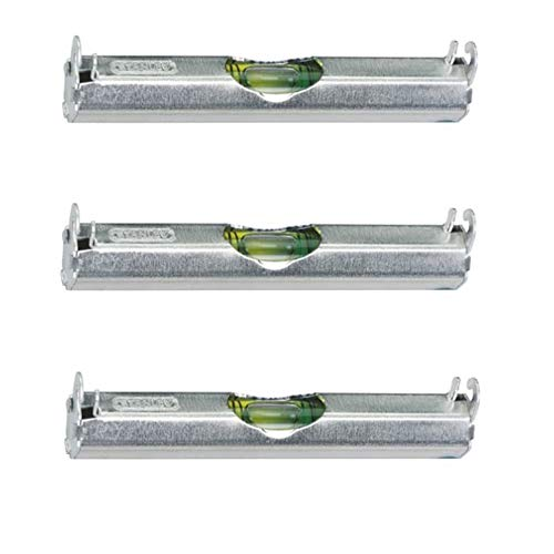 Stanley 42-287 3-3/32-Inch Aluminum Line Level, 3 PACK