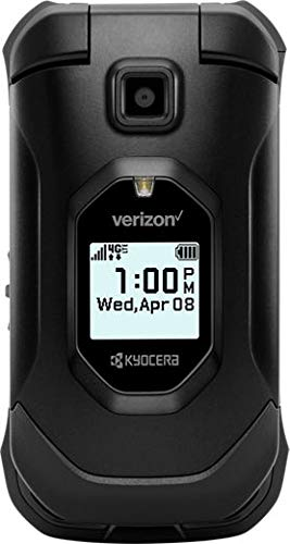 Kyocera DuraXV Extreme E4810 16GB Verizon | Ultra-Rugged Flip Phone IP68 Rated | 4G LTE HD Voice| 5MP Camera | 1770mAh Battery