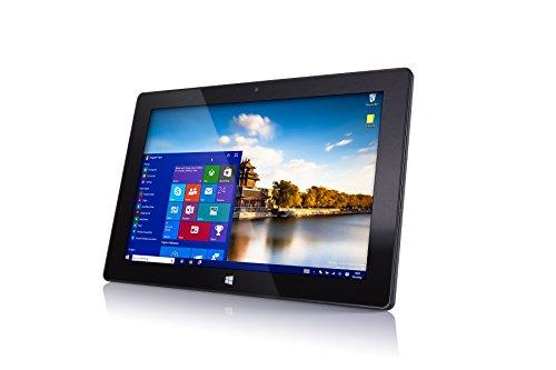 10' Windows 10 Fusion5 FWIN232 Plus S1 Ultra Slim Windows Tablet PC - (4GB RAM, USB 3.0, Micro HDMI, Intel Quad-Core CPU, IPS HD Display, 5MP and 2MP Cameras, Bluetooth 4.0, Windows 10 S) (64GB)