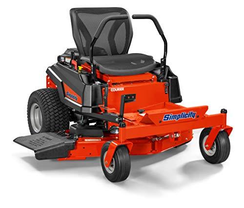 Simplicity 2691318 Courier Mower, Riding, Zero Turn, Orange