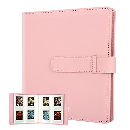 256 Pockets Photo Album for Fujifilm Instax Mini 11 90 70 9 8+ 8 LiPlay Instant Camera, Polaroid Snap SnapTouch PIC-300 Z2300 Instant Camera, Kodak Smile Printomatic Instant Print Camera (Pink)