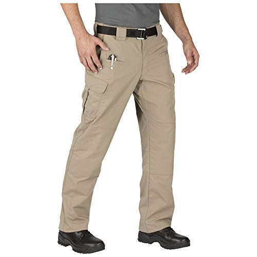5.11 Men's STRYKE Tactical Cargo Pant with Flex-Tac, Style 74369, Stone, 30W x 32L