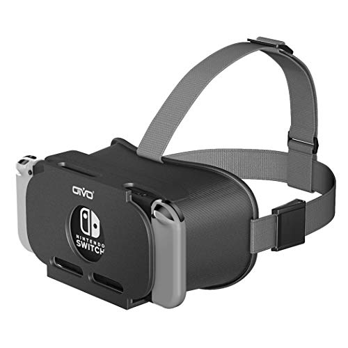 VR Headset Compatible with Nintendo Switch & Nintendo Switch OLED Model, OIVO 3D VR (Virtual Reality) Glasses, Switch VR Labo Goggles Headset for Nintendo Switch