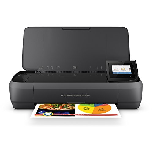 HP OfficeJet 250 Portable Printer with Wireless and Mobile Printing (CZ992A) (Renewed)