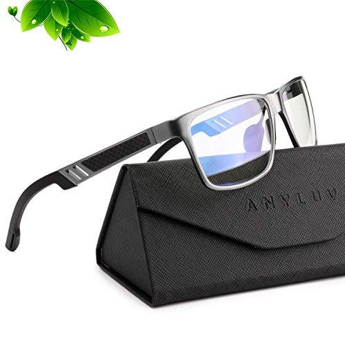 ANYLUV Blue Light Blocking Glasses Women Men - Computer Gaming Glasses,Anti Eyestrain