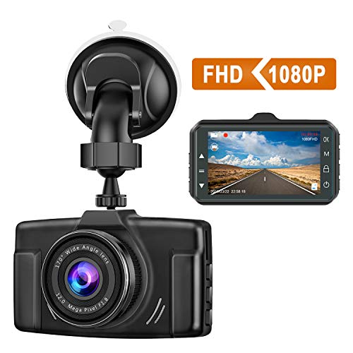 Dash Cam for Cars 1080P FHD 2021 Car Dash Camera for Cars CHORTAU 3 inch Dashcam with Night Vision,170°Wide Angle, Parking Monitor, Loop Recording, G-Sensor