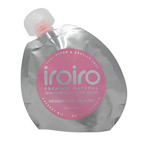 200 Bubble Gum Pink Premium Natural Semi Permanent Hair Color