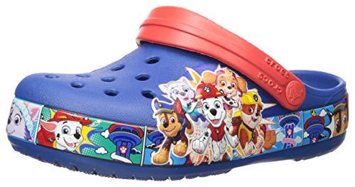 Crocs Kids' Paw Patrol Clog, Blue Jean, 2 Little Kid