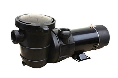 FlowXtreme NE4516 Pro II Above Ground Pool Pump 2-Speed, 5280-2400 GPH/1/0.39HP, Black