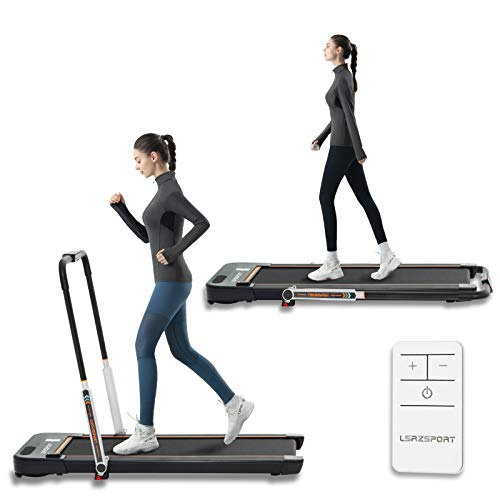 Under Desk Treadmills for Home Folding Office Use Low Noise 240 LB Max Weight with Installation-Free