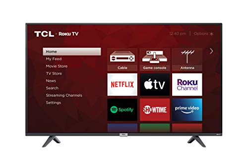 TCL 50-inch Class 4-Series 4K UHD Smart Roku LED TV - 50S435, 2021 Model