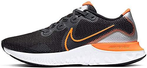 Nike Mens Renew Run Knit Track Running Shoes Black 12 Medium (D)