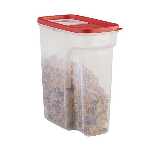 Rubbermaid Modular Food Lids, Space Saving Plastic Storage Containers, 18- Cup, Clear