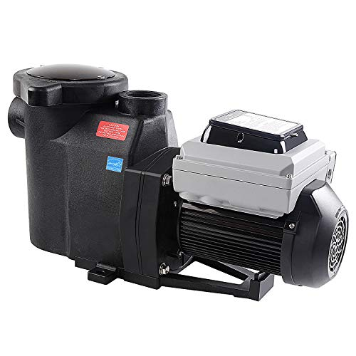 BLUE WORKS BLPVS1515H Variable Speed Pump for In-Ground Swimming Pools, 1.5HP, 220V-240V | 2-Year Full USA Warranty