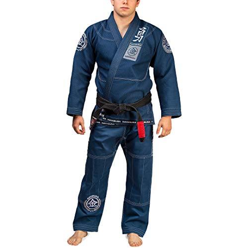 Hayabusa Goorudo 3 Gold Weave Jiu Jitsu Gi - Blue, A3