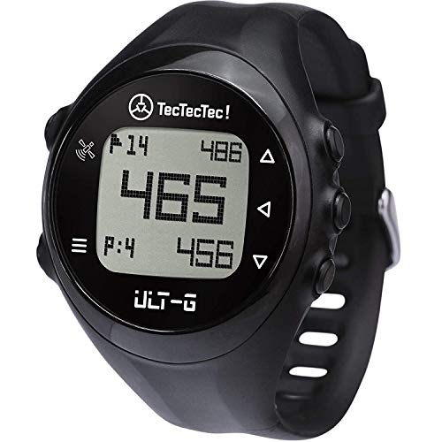 TecTecTec ULT-G Golf GPS Watch, Preloaded Worldwide Courses, Lightweight, Simple, Easy-to-use Golf Watches