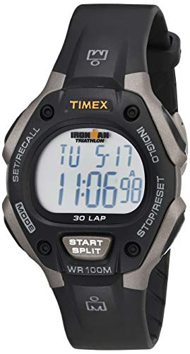 Timex Men's T5E901 Ironman Classic 30 Gray/Black Resin Strap Watch