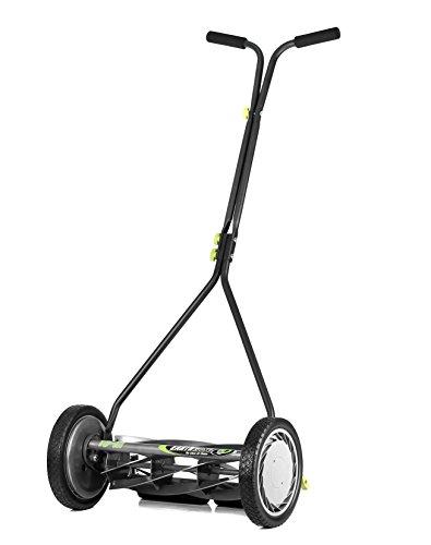 Earthwise 1715-16EW 16-Inch 7-Blade Push Reel Lawn Mower, Grey