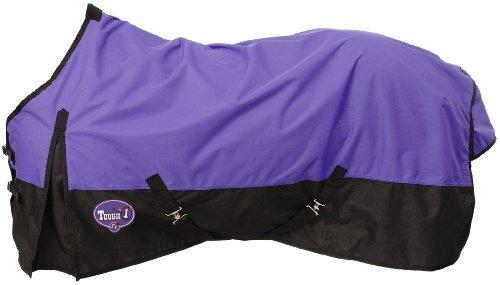 Tough 1 600 Denier Waterproof Horse Sheet, Purple, 75-Inch