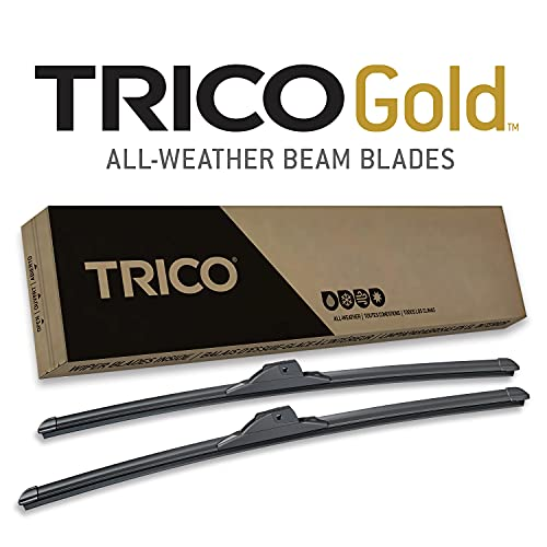 TRICO Gold 26 and 22 Inch Pack of 2 Windshield Wiper Blades For Car (18-2622)