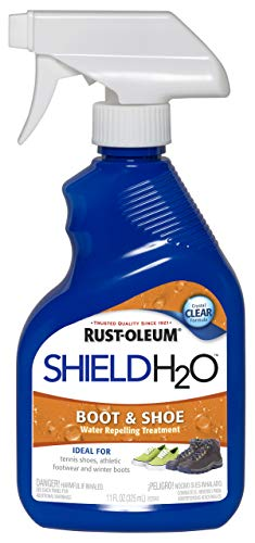 Rust-Oleum, Clear 280886 Shield H2O Boot and Shoe Spray, 11 oz